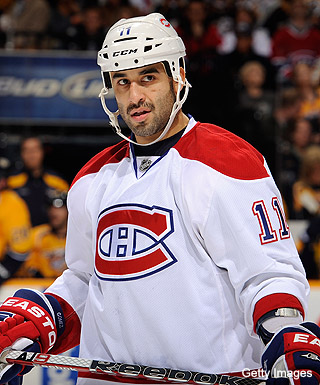 Scott Gomez acknowledges the absurdity of his goal drought