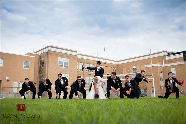 Joe Flacco wedding picture