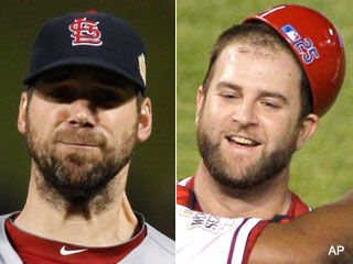 Chris Carpenter yelled naughty words at Mike Napoli