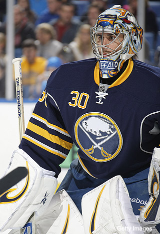 Ryan Miller isn't sure Milan Lucic concussed him anymore - Puck Daddy  - NHL Blog - Yahoo! Sports