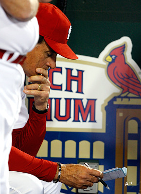 Oops! Tony La Russa turns in wrong lineup card on Friday