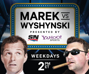 On Monday, Puck Daddy Radio returns daily as 'Marek vs. Wyshynski'