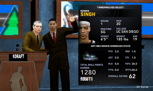 Important milestones: David Stern's speaking role in 'NBA 2K12′