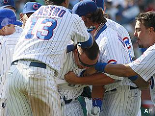 Sun shines on Chicago: Cubs finally win three in a row