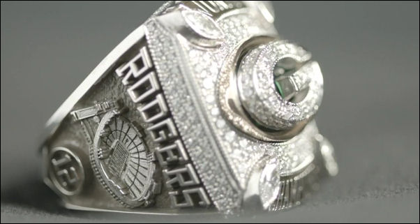 Packers go for symbolism, hugeness in their Super Bowl rings