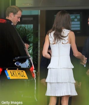 Pics: Prince William and the Duchess of Cambridge visit Wimbledon