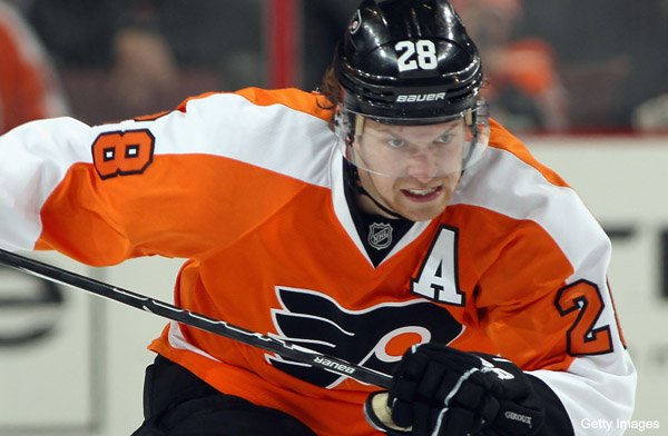 Claude Giroux's concussion huge blow to Flyers