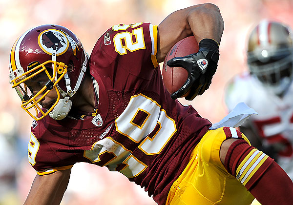 Target Practice, Week 9: Roy Helu had a rather busy day
