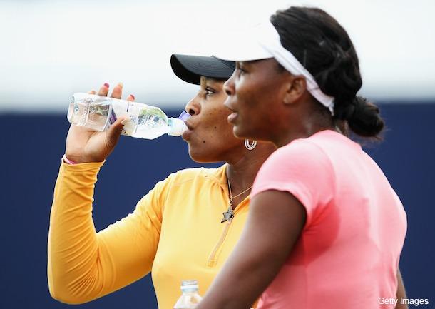 Serena Williams was seeded No. 8