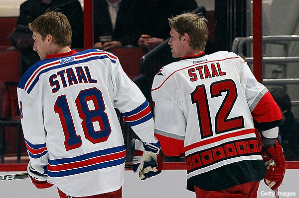 Should Rangers seek retribution on Eric Staal for brother's injury?