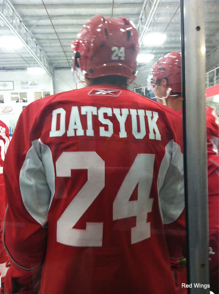 Pavel Datsyuk switches numbers to honor late Ruslan Salei