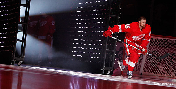 Niklas Kronwall will bring the pain in Detroit for seven more years