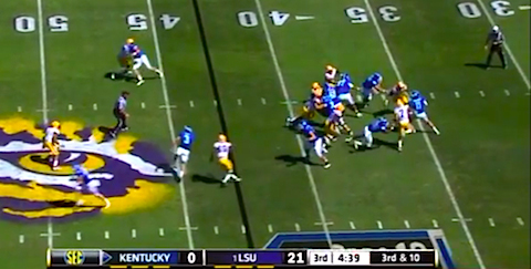 Deconstructing: How LSU sets its 'Honey Badger' free