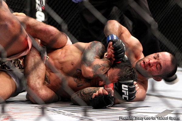 Johnson scores big KO, Lamas and Uyenoyama win at UFC on Fox