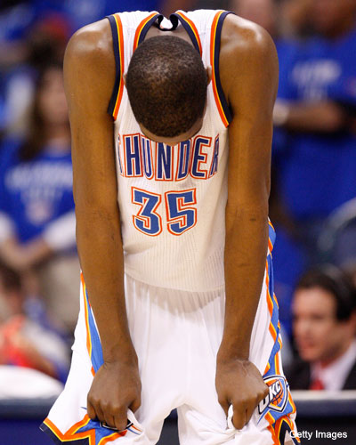 RIP to Kevin Durant's 'rip-through' move … kind of