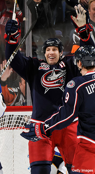 R.J. Umberger&#8217;s 5-year vote of confidence in Blue Jackets