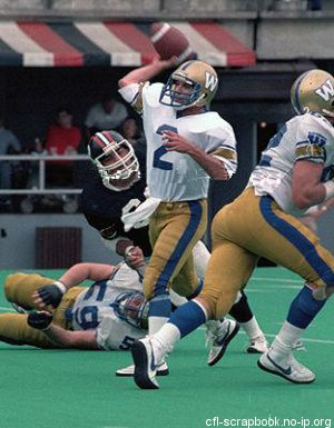 Zeroth Down: The Winnipeg Blue Bombers' QB questions