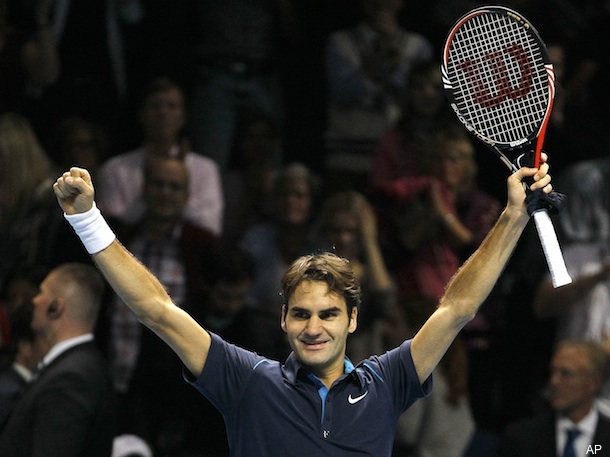 Federer wins record sixth ATP Finals, will end year at No. 3