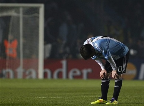Copa America, awful free kick depresses Messi