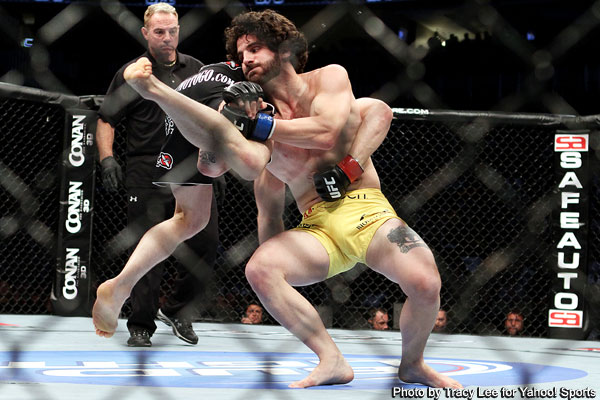 Brenneman halts Story's rise with upset at UFC on Versus 4