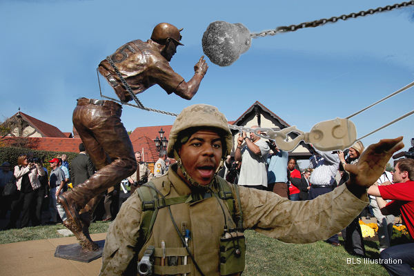 BLS photoshop: Angry Cards fans topple Pujols statue