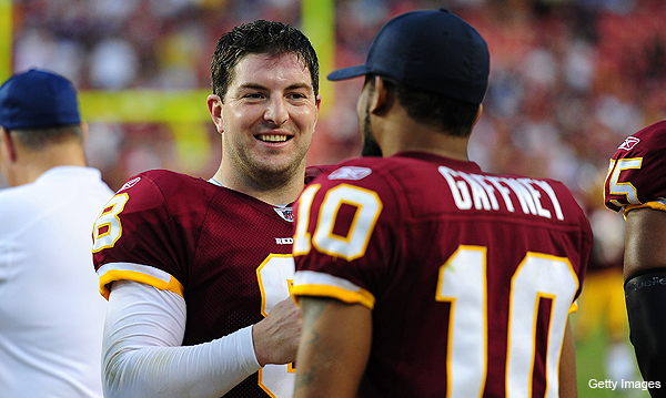Rex Grossman believes that he has the best receivers in the NFL