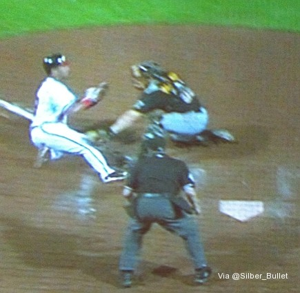Safe?! Stunning umpire's call gives Braves win in 19 innings