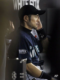 Slumpbot .200: Is slump the beginning of the end for Ichiro?