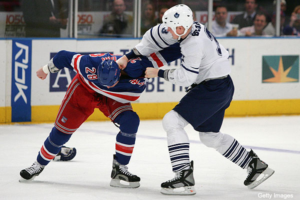 The Faustian Bargain of the NHL fighter
