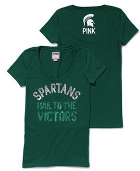 Victoria's Secret fails with cute Michigan State T-shirt