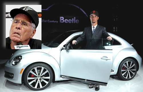 Jack McKeon mistakes Giants' Vogelsong for a 'Volkswagen'