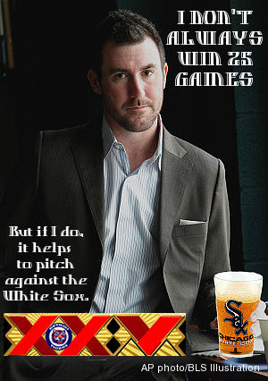 White Sox make Verlander 'the most interesting man in the world'