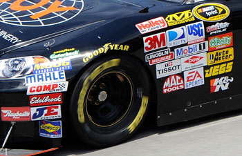 You can be a part of a NASCAR sponsorship! Right now!