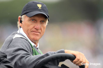 Greg Norman won't return as Presidents Cup captain