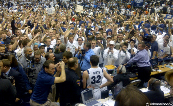 A look back at college basketball's 10 best moments of 2011