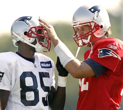 Photo gallery: The courtship of Chad Ochocinco and Tom Brady