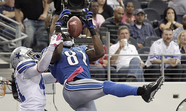 Calvin Johnson sets NFL mark with second TD in amazing comeback vs. Cowboys