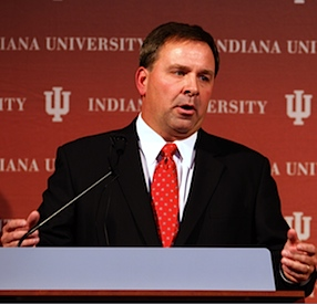 Radio jocks beware: Indiana's new head coach does not appreciate jokes at Indiana's expense