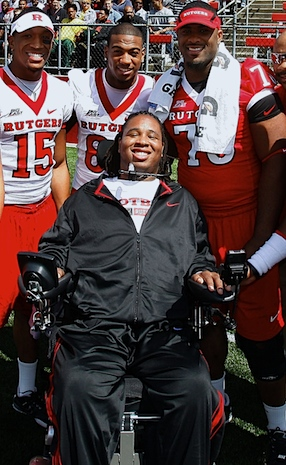 Eric LeGrand update: Paralyzed Rutgers lineman joins Knights' radio team