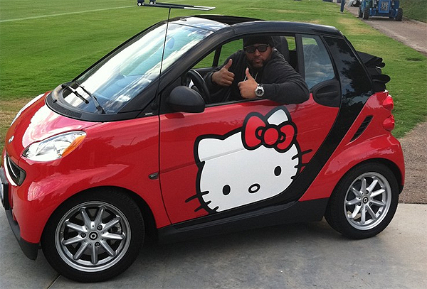 Antonio Garay: The nose tackle who drives a Hello Kitty smart car