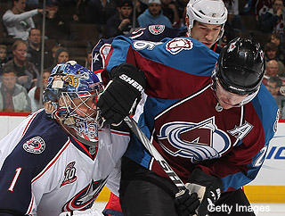Avs vs. Blue Jackets: Most interesting game you can't watch