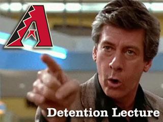 Detention Lecture: Your 2011 Arizona Diamondbacks