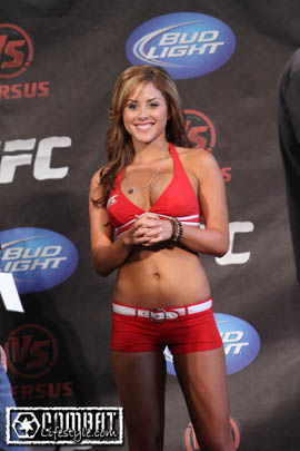 Octagon Girl Palmer: &#8216;I want to be known as more than the hot chick&#8217;