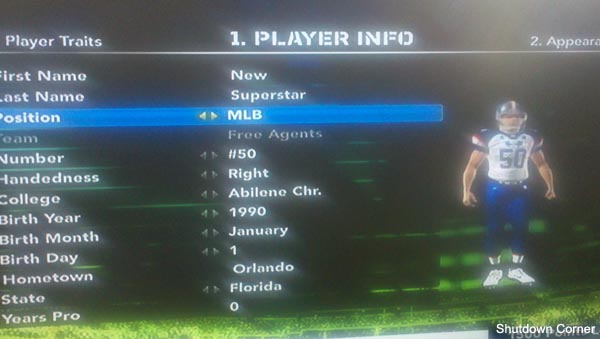 Madden '12 assigns skin colors to positions