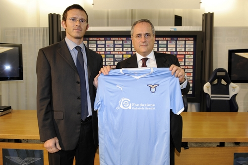 Lazio use foundation for fan shot by police as shirt sponsor