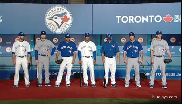 Bringing the blue back: Blue Jays unveil new uniforms, logo