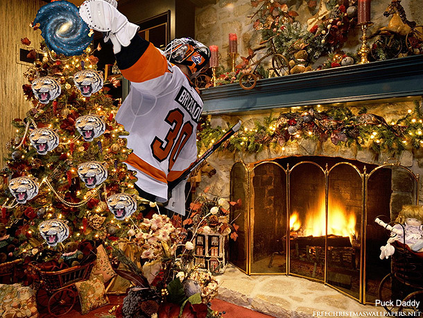 Puck Daddy Reader Art Gallery 1: NHL Holiday Ornament