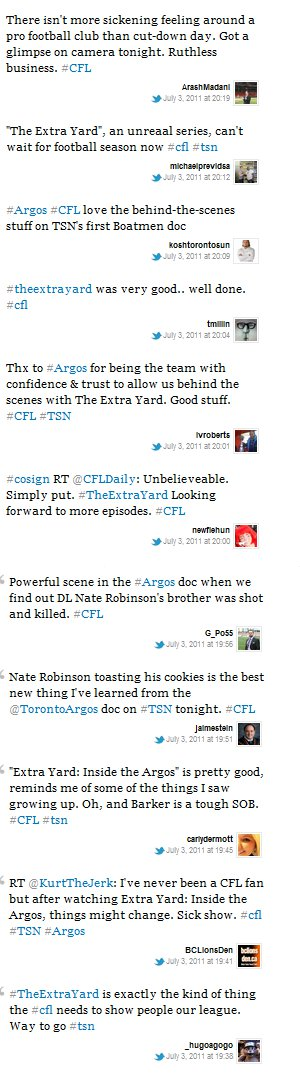 Reactions and top moments from the inaugural The Extra Yard