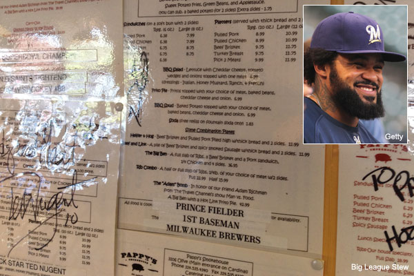Did St. Louis BBQ slay vegetarian Prince Fielder?