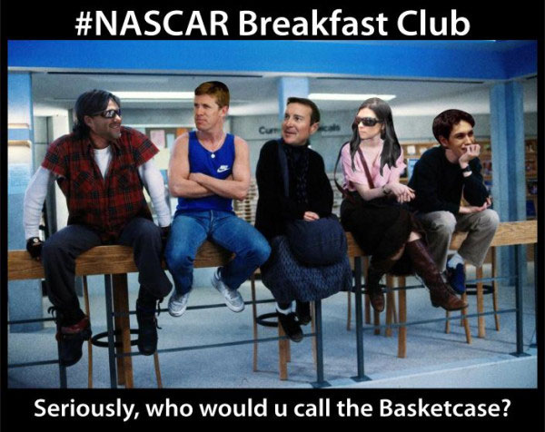 NASCAR @ the movies: Re-cast 'The Breakfast Club' with drivers